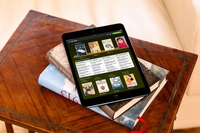Skoobe App auf dem iPad